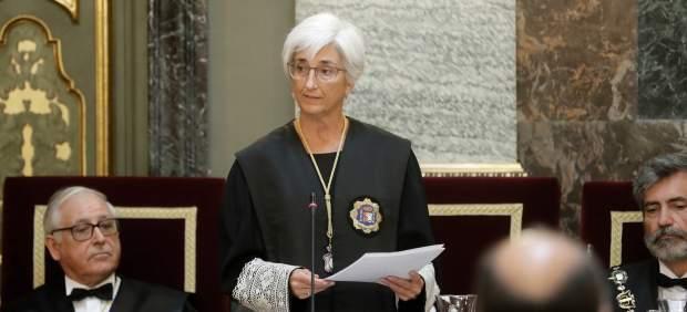 La fiscal general del Estado, María José Segarra,