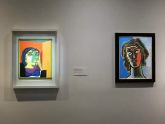 'Retrato De Dora Maar' De Picasso Y 'Habia' De Francis Picabia.