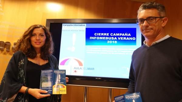 Marina Bravo y Lopez presidente del Aula del Mar infomedusa balance 2018