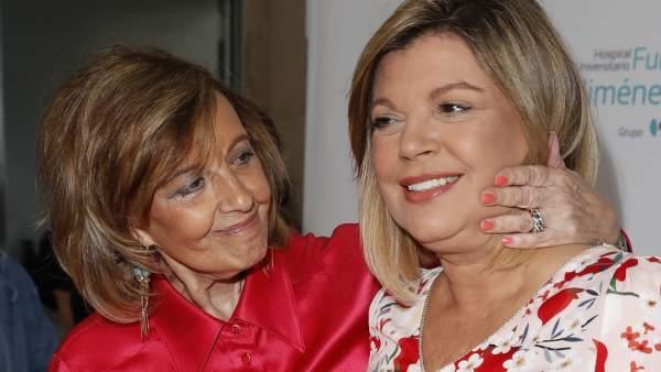 Terelu Campos y su madre