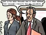 'El Gran Hermano y Villarejo', viñeta de Superantipático