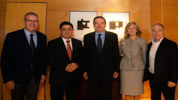 Miguel Gracia ha asistido a la presentación de esMontañas.