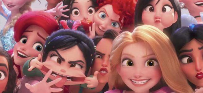 Princesas Disney en 'Ralph rompe Internet'