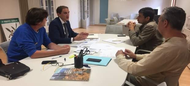 José Crespín se ha reunido este miércoles con la plataforma Rescap-2