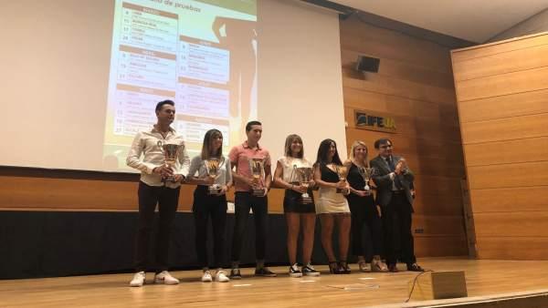 Ganadores en categoría senior