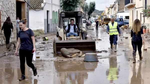 Inundaciones en Mallorca
