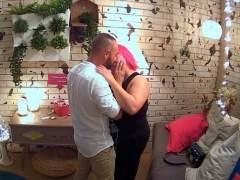 Alejandro y Sonia en 'First Dates'.