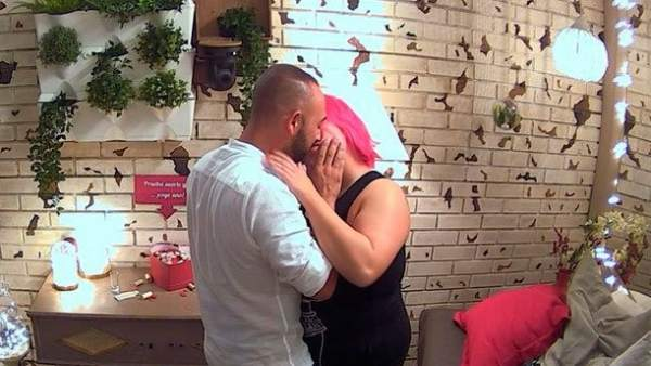 Alejandro y Sonia en 'First Dates'.