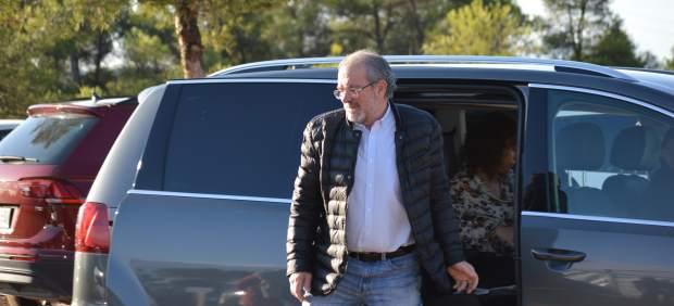 Joan Reñé, este miércoles en Maials (Lleida).