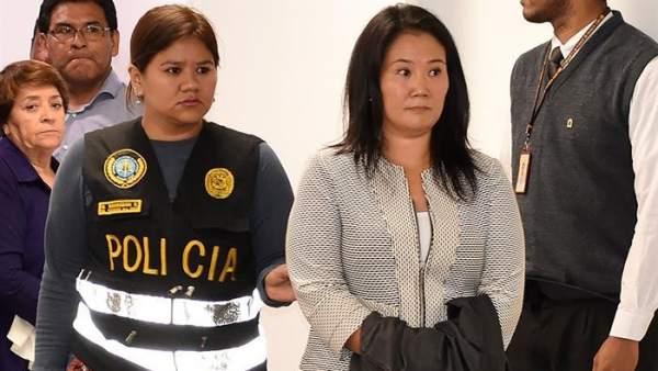 Resultado de imagen para keiko fujimori detenida