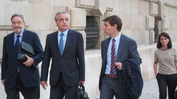 El expresidente de Caixa Catalunya Narcís Serra.