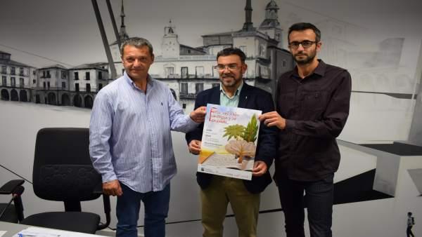 Rafael Moral, Pedro Llamas Y Víctor López.