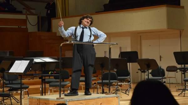 Lolo Fernández presentará este domingo su 'Concierto para clown y orquesta'
