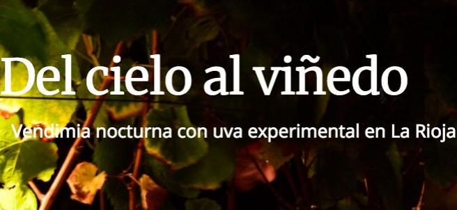 Del cielo al viñedo