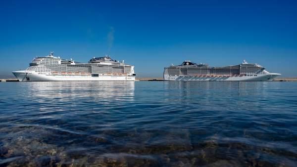 Cruceros de MSC en València
