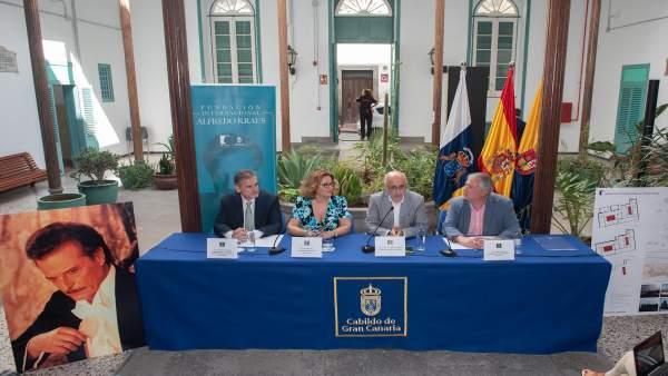 Presentación de la sede de la Fundación Internacional Alfredo Kraus