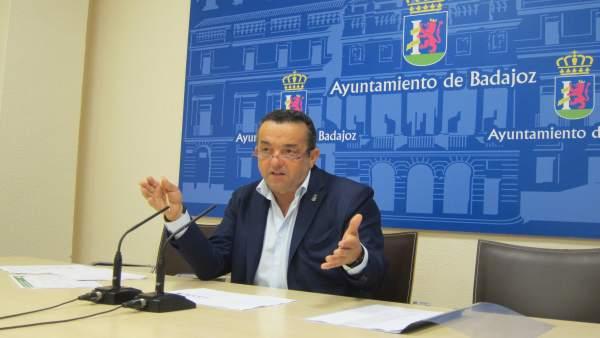 Concejal de Badajoz Antonio Ávila