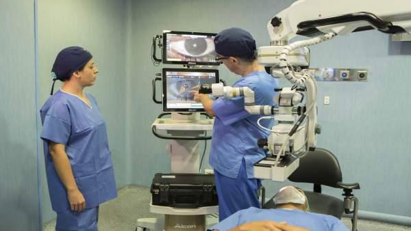 Nueva generación de quirófano inteligente en Eurocanarias Oftalmológica