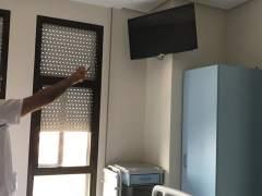 Televisor de un hospital