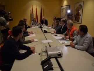 Reunión de la Fundación Anclaje en León 11-10-2018