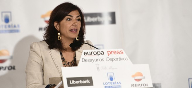 María José Rienda, presidenta del Consejo Superior de Deportes, protagoniza el D