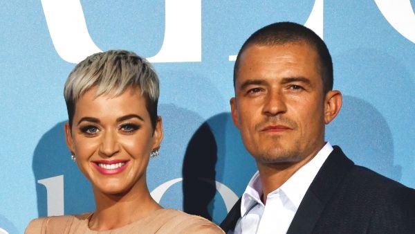 Katy Perry y Orlando Bloon