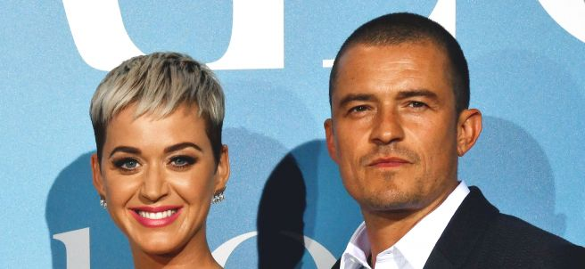 Katy Perry y Orlando Bloon