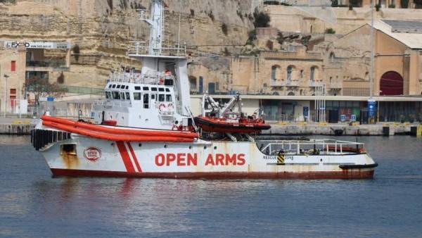 Barco de 'Open Arms'