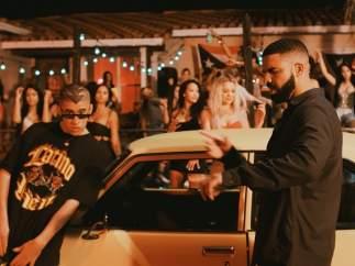 'Mia', la última canción de Drake y Bad Bunny.