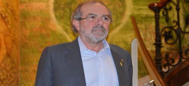 Joan Reñé en la Diputación de Lleida