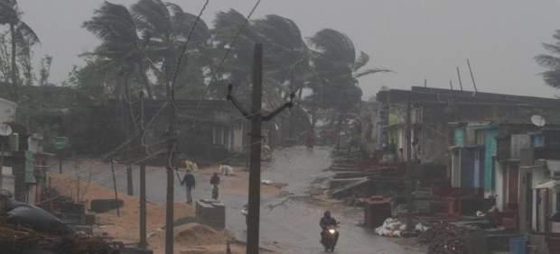 Ciclón Titli en India
