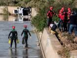 Buzos en la riada de Mallorca
