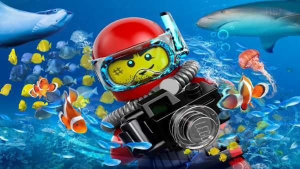 Lego en el Sea Life Benalmádena