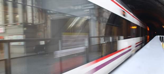Tren, trenes de Cercanías de Renfe en Madrid