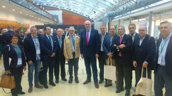 Delegación de Asaja Córdoba en el Congreso de los Agricultores Europeos
