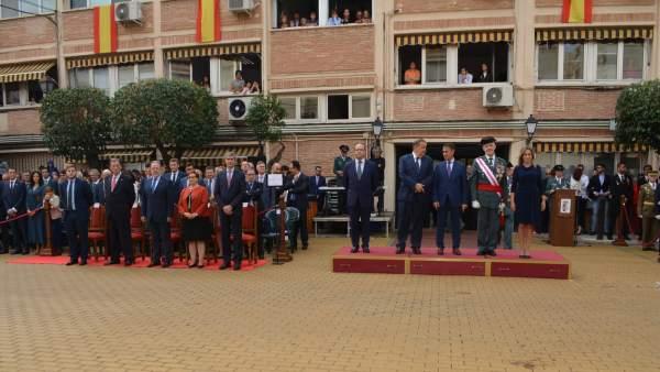 Acto institucional en honor a la patrona de la Guardia Civil en Toledo