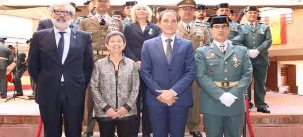 Teresa Cunillera en el acto de la Patrona de la Guardia Civil