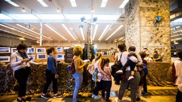 Rocódromo en la 78 Feria General de Zaragoza