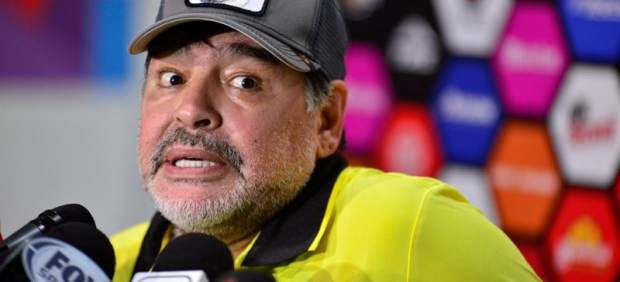 Maradona, sobre su expareja:
