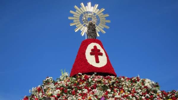 Virgen del Pilar este 12 de octubre.