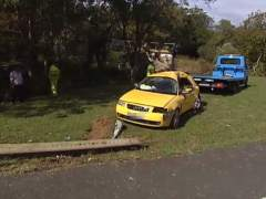 Accidente de tráfico en Valdoviño