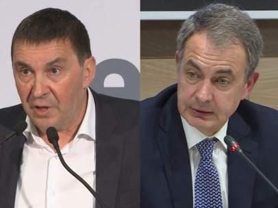 Otegi y Zapatero