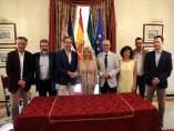 Firma de convenio entre la Consejería de Fomento y el Ayuntamiento de Jerez