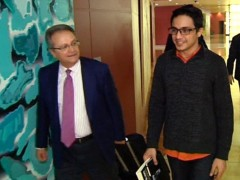 Lorent Saleh y Juan Pablo de Laiglesia