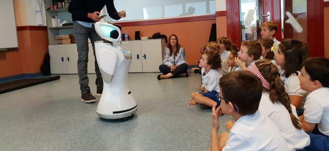 El robot Sanbot