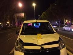 Muere una adolescente de 13 años atropellada por una furgoneta en Madrid