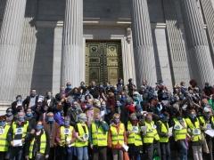 Protesta contra la ley mordaza