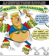 'Bolsonaro', viñeta de Asier