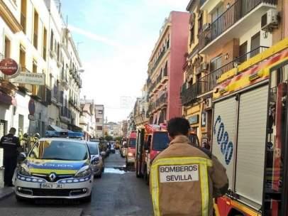 Bomberos de Sevilla