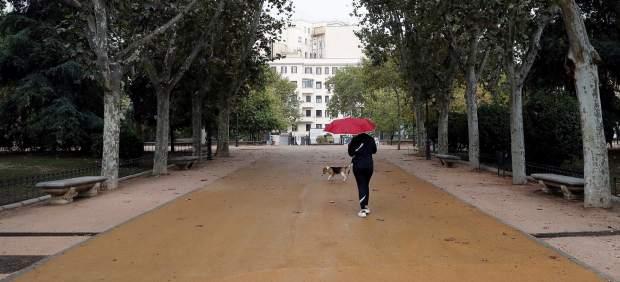 El viento y la lluvia activan la alerta en 16 provincias este lunes